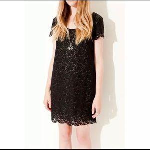 ARITZIA TALULA Black Fleetwood Floral Lace Dress